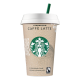 Chilled Starbucks Caffe Latte
